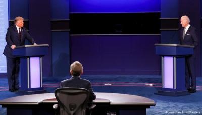 في أول مناظرة رئاسية.. إهانات شخصية وصراخ بين ترامبوبايدن