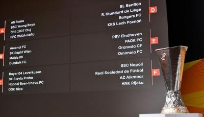 مجموعات متوازنة في قرعة الدوري الأوروبي