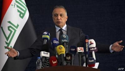"""رئيس الوزراء العراقي ينتقد معارضي الوجود الأميركي قائلاً: """"ذهبوا للبيت الأبيض لإسقاط صدام"""""""