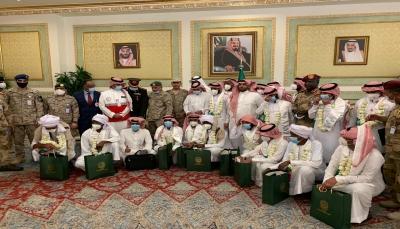 التحالف العربي يعلن وصول 19 أسيرا من قواته إلى الرياض