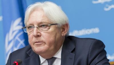 """""""غريفيث"""" ينفي أي دور في نقل سفير إيران لدى الحوثيين إلى صنعاء"""