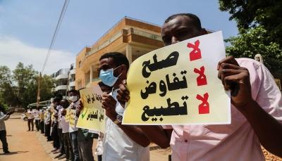 """""""لنيحسّنإقتصادناولن يُنهي أزماتنا"""".. كيف ينظر الشارع السوداني للتطبيع مع إسرائيل؟"""