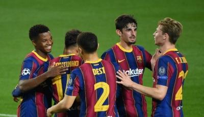 برشلونة يكتسحفيرينكفاروسبخماسية وإشبيلية يقتنص تعادل ثمين أمام تشيلسي