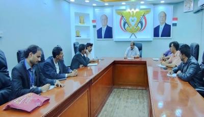 وزير النفط: محافظة شبوة آمنة ومشجعة لعودة عمل الشركات النفطية الأجنبية