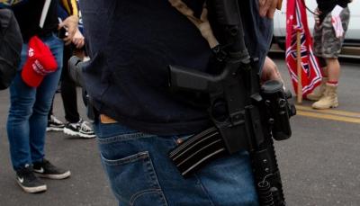 أنصار ترامب يحملون السلاح بعد إعلان فوزبايدنبالرئاسة الأمريكية (صور)