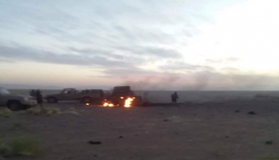 """""""حصيلة ثقيلة"""".. قتلى وأسرى من الحوثيين وتدمير آليات عسكرية شرق """"الحزم"""" في الجوف"""