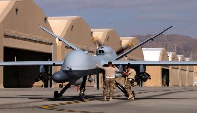 """""""تواطؤمع جرائم الحرب باليمن"""".. العفو الدولية تدعو الولايات المتحدة لوقف بيع طائرات مسيرة للإمارات"""