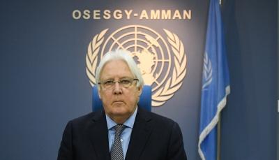 """غريفيث يخطر مجلس الأمن بتحديات """"الإعلان المشترك"""" وأطمئنانه للتقدم في اتفاق الرياض (نص الإحاطة)"""