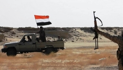 قوات الجيش تصد هجمات للانتقالي في أبين وتسيطر على مواقع جديدة