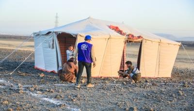 الأمم المتحدة: نزوح أكثر من 158 ألف يمني منذ مطلع العام الجاري