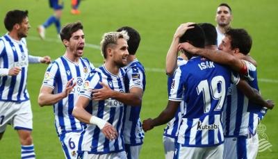ريال سوسييداد يحلق فوق الكبار في صدارة الدوري الإسباني