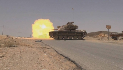 """مصدر: قوات الجيش تعزز جبهات غرب مأرب وتعتزم التقدم نحو """"مفرق الجوف"""""""