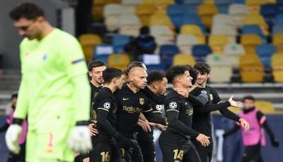 برشلونة ويوفنتوس يبلغان مرادهما ويتأهلان إلى ثمن النهائي