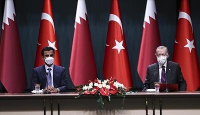 تركيا وقطر توقعان 10 اتفاقيات بمجالات متعددة