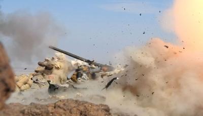 """مأرب: الجيش يعلن تدمير مخزن أسلحة ومصرع وإصابة 21 حوثيا في """"هيلان"""""""