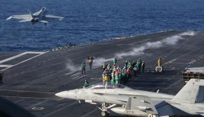 الدفاع الأمريكية تدفع بحاملة طائرات وسفن حربية باتجاه دول الخليج