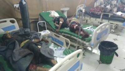 """""""جريمة حرب"""".. مركز حقوقي أمريكي يدين قصف الحوثيين قرية """"القازة"""" في الحديدة"""
