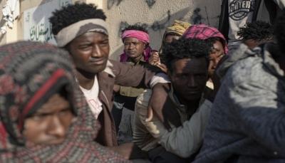 حريق هائل يودي بحياة 8 مهاجرين وإصابة 170 في مركز احتجاز بصنعاء