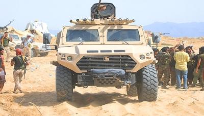 القوات السعودية تغادر أبين بشكل نهائي وتعثر دخول لواء الحماية الرئاسية إلى عدن