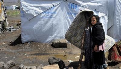 """مسؤول أممي: نازحو اليمن """"الأطفال"""" معرضون لعوامل الطقس القاسية"""