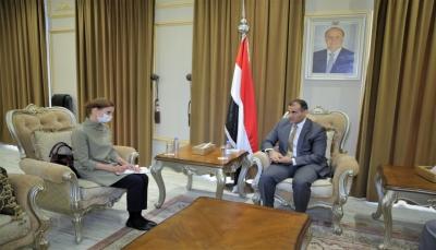 الحكومة تؤكد على ضرورة نقل مقر البعثة الأممية إلى مكان محايد في الحديدة