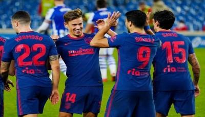 أتلتيكو مدريد يحصّن صدارته بفوز ثمين على ريال سوسييداد