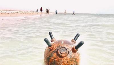 التحالف: ارتطام لغم بحري زرعه الحوثيون بسفينة تجارية بالبحر الأحمر
