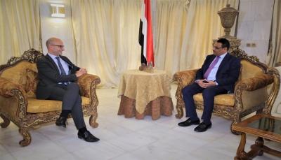 وزير النفط يبحث مع سفير فرنسا تفعيل التعاون في مجال النفط والغاز