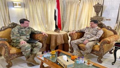 وزير الدفاع يتطلع لتطوير التعاون مع أمريكا في مكافحة الإرهاب وتدريب القوات المسلحة