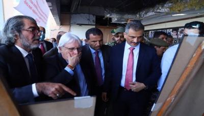"""""""غريفيث"""" يعلن قرب وصول فريق أممي إلى عدن لدعم عملية التحقيق بالهجوم على المطار"""