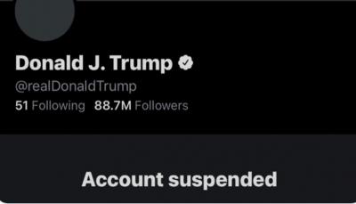 تويتر يعلق حساب ترامب نهائيا بسبب مخاوف من التحريض على العنف