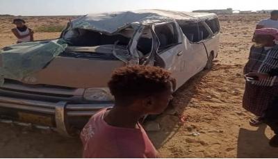 حضرموت.. وفاة وإصابة 15 شخصا في حادث مروري بالشحر