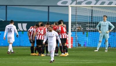 بلباو يهزم ريال مدريد ويضرب موعدا مع برشلونة في نهائي السوبر الإسباني