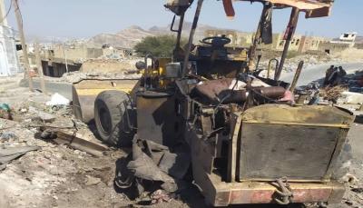 إصابة 3 مدنيين جراء انفجار لغم من مخلفات الحوثيين شرقي تعز