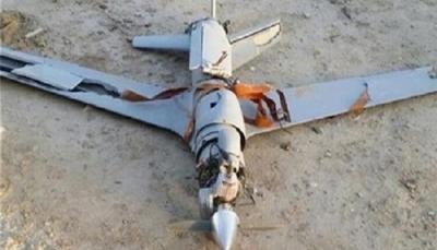 """صعدة: الجيش الوطني يسقط مُسيرة """"مفخخة"""" للحوثيين في الصفراء"""