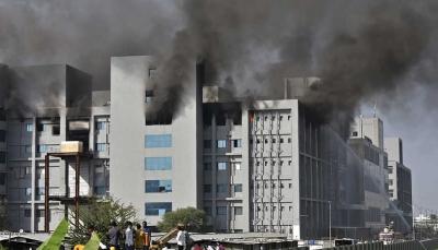 الهند: قتلى باندلاع حريق في أكبر مصنع لإنتاج اللقاحات في العالم (فيديو)