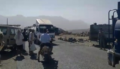 تعز.. الأمن يضبط 3 مشتبهين بقتل جندي ويفتح الطريق في نجد قسيم