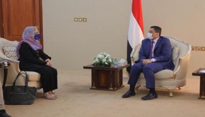 """وزير الخارجية: تصنيف الحوثي """"منظمة إرهابية"""" ينبغي أن يكون محل إجماع دولي"""