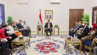 """وفد الاتحاد الأوروبي يختتم زيارته إلى """"عدن"""" ويكشف عن هدف الزيارة"""
