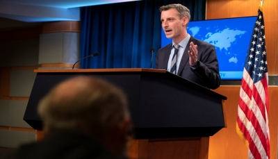 """الخارجية الأمريكية: سنواصل الضغط على قيادة جماعة """"الحوثي"""" في اليمن"""