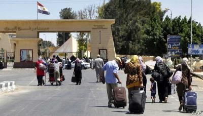 مصر تغلق معبر رفح مع قطاع غزة اعتبارا من أمس الإثنين