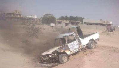 عدن.. جرحى وإحراق أطقم في اشتباكات مسلحة في دار سعد