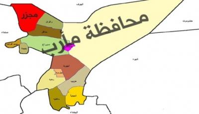 مأرب: مقتل امرأة بانفجار لغم وقصف حوثي يستهدف مخيمات النازحين