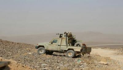 """مأرب: الجيش يعلن مقتل 23 حوثيًا وتدمير نقطة قيادة في جبهة """"الجدعان"""""""