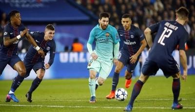 برشلونة يواجه باريس سان جيرمان وكوابيسه في دوري أبطال أوروبا