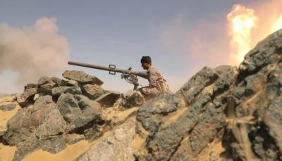مأرب.. الجيش يعلن قصف تجمعات وتعزيزات للحوثيين في جبهتي صرواح والجدعان