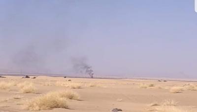 مصرع عشرات الحوثيين وتدمير آليات بنيران قوات الجيش غربي مأرب