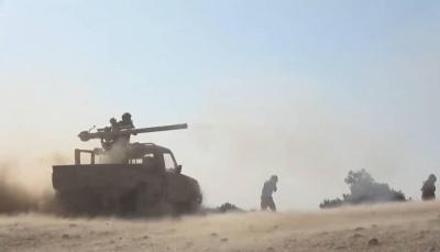 """معارك حاسمة.. الجيش يعلن دحر الحوثيين من عدة مواقع بـ""""المخدرة"""" غربي مأرب"""