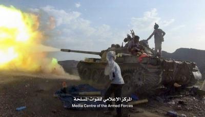 """الضالع.. مصرع وإصابة عشرات الحوثيين في هجوم واسع للجيش في """"مريس"""""""