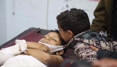 تنديد حكومي بالقصف الحوثي الذي استهدف حي الروضة بتعز